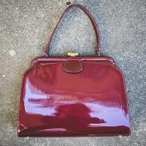 Vintage Bobbie Jerome Doctor's Bag Satchel Patent